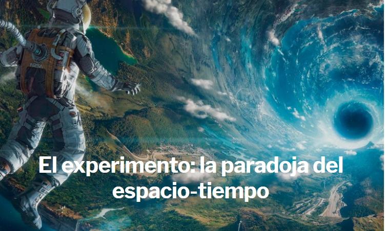 La paradoja del espacio-tiempo en un agujero negro ( XLSemanal)