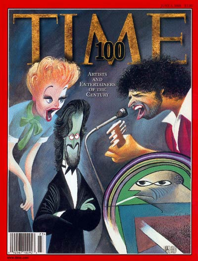 Artists & Entertainers of 20th century. Arts and Thecnology (Time)