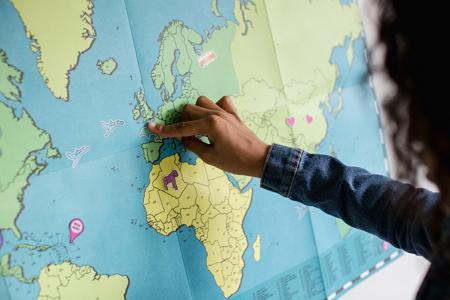 Organización política y territorial: Organización política y espacio geográfico
