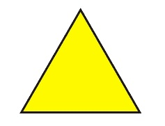 Definition, basic elements and types of centers of the triangle