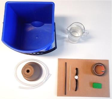 Utilización de l a energía del agua. Experimento de Medio ambiente para niños de 8 a 12 años