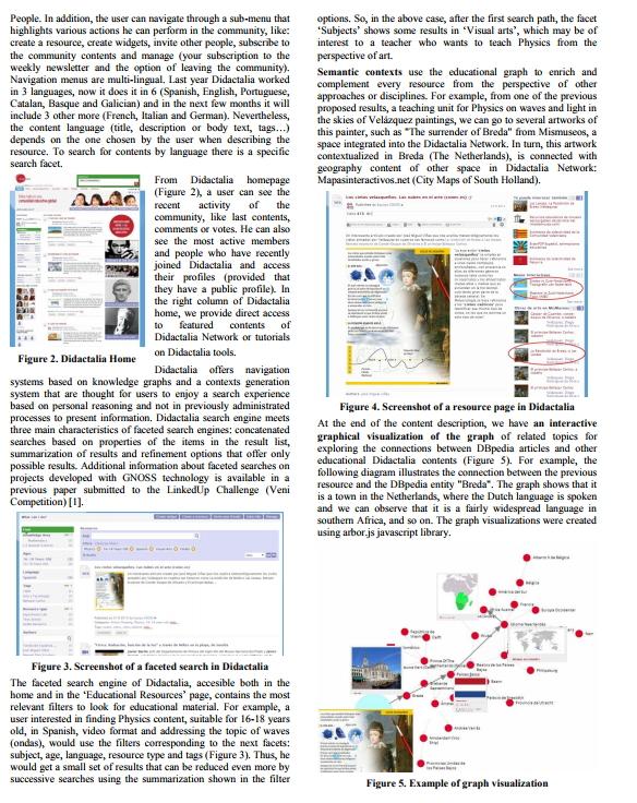 Didactalia: Construyendo y enriqueciendo un gran grafo educativo en linked data para mejorar y acelerar el proceso de enseñanza y aprendizaje (VICI Competition)