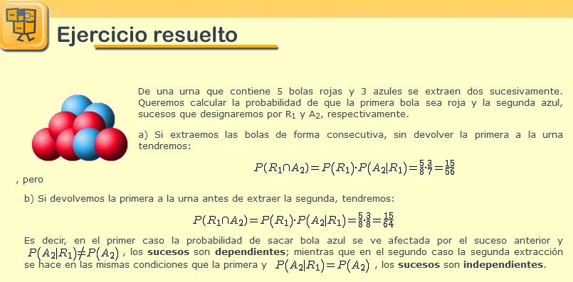 Probabilidad - 1º Bach