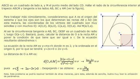 La circunferencia: ecuación y propiedades