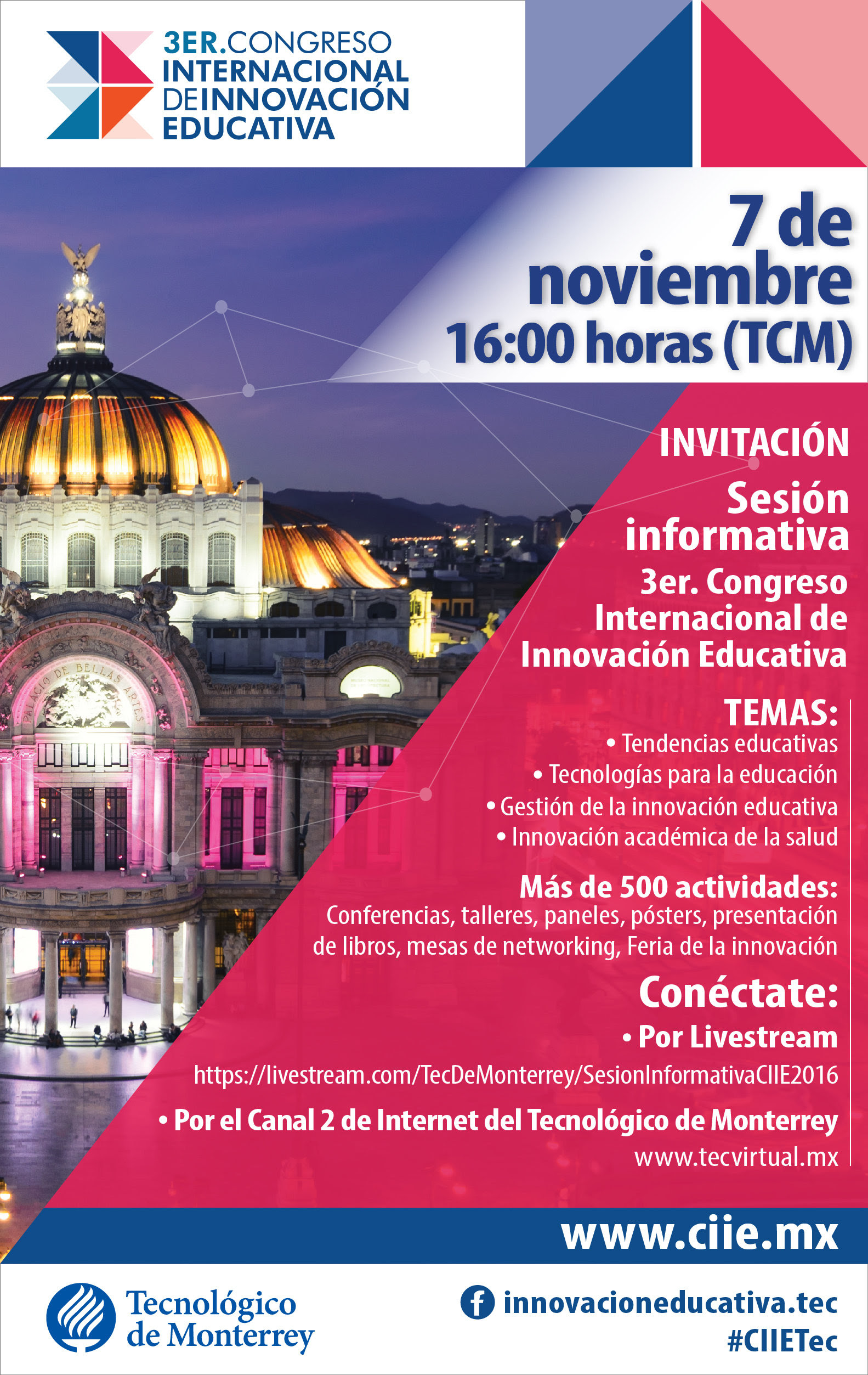3er. Congreso Internacional de Innovación Educativa 2016