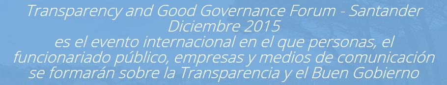 GNOSS particip� en el Forum sobre transparencia y buen gobierno celebrado en Santander. Forum TGG