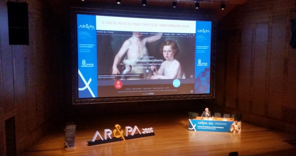 GNOSS participa en AR&PA 2016. X Bienal de la Restauranción y Gestión del Patrimonio. Valladolid 10-12 de 2016
