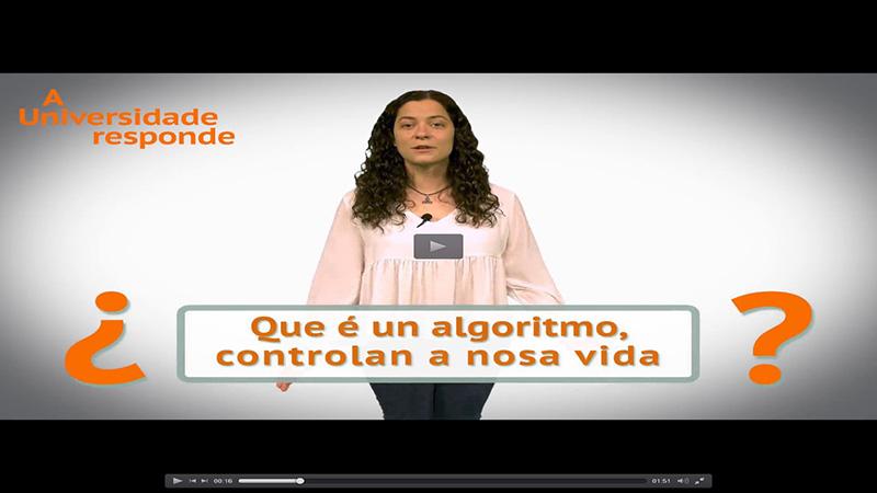 Que é un algoritmo, controlan a nosa vida?