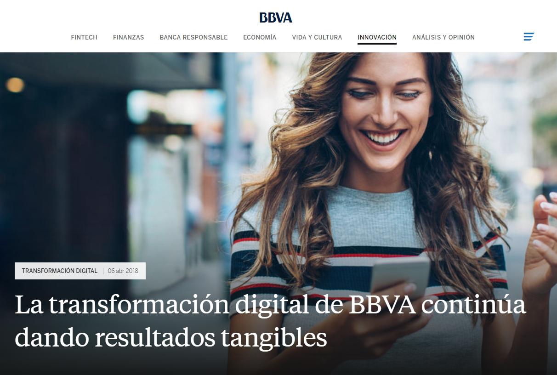 A propósito del BBVA: los procesos de transformación digital de la empresa
