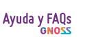 * GNOSS Ayuda y FAQs *
