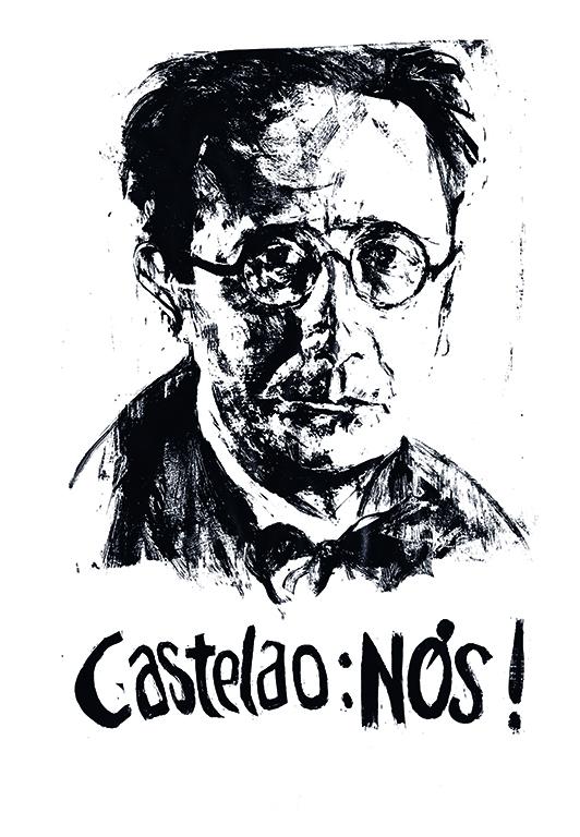 Ilustración del autor Castelao