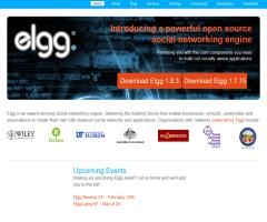 Elgg: open-source social networking and social publishing platform