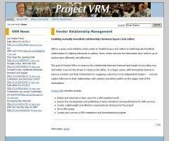 Project VRM Info Site - Vendor Relationship Management
