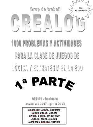 1000 Problemas y actividades para la clase de 'juegos de lógica y estrategia' de Educación Secundaria. Eduardo Segrelles Vaello