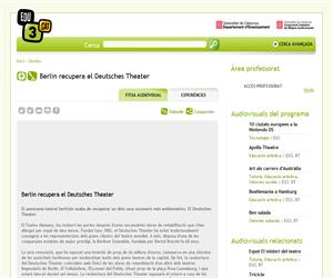 Berlin recupera el Deutsches Theater (Edu3.cat)