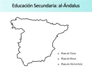 Ficha de actividades sobre Al-Ándalus