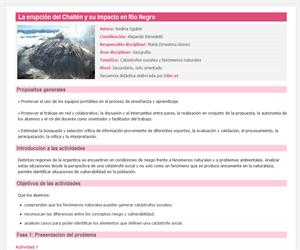 La erupción del Chaitén y su impacto en Río Negro