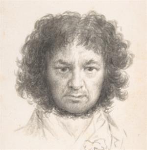 """""""Solo la voluntad me sobra"""". Dibujos de Goya."""