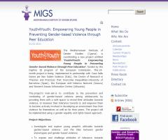 MIGS. Youth4Youth: Empowering Young People in Preventing Gender-based Violence through Peer Education | DAPHNE III (2007-2013). European Commission