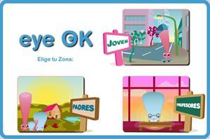 EYE-OK, video juego info-educativo sobre salud visual