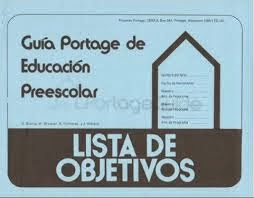 GUÍA PORTAGE EDUCACIÓN PREESCOLAR