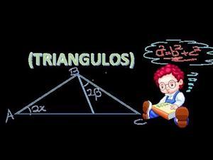Triángulos trazos (ejercicios básicos)