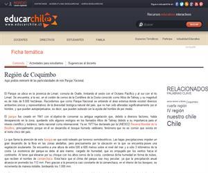 4ta Región Pqe. Fray Jorge (Educarchile)