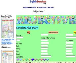 Adjectives (englishexercises)