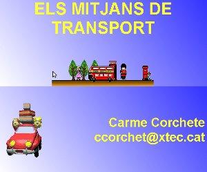 Els mitjans de transport