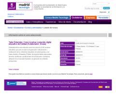 Taller Didactalia: cómo localizar contenido digital educativo de calidad (Madrid, 20 de septiembre 2012)