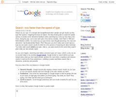 Search: now faster than the speed of type (Blog Oficial de Google)