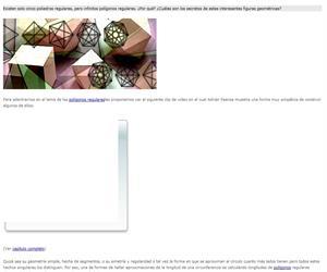 Polígonos y poliedros regulares