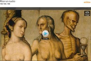 Mirar un cuadro: Las edades y la muerte (Hans Baldung Grien) comentado por Modesto Cuixart. RTVE