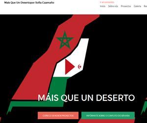 Proxecto educomunicativo sobre o Sáhara Occidental