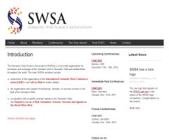 Semantic Web Science Association