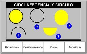 Actividades con círculos y circunferencias