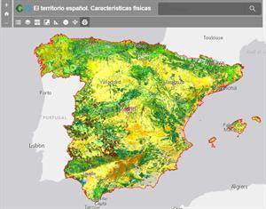 Características físicas del territoro español. Atlas digital escolar