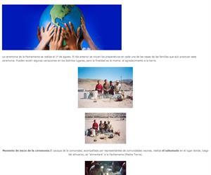Educación intercultural bilingüe. Galería de imágenes