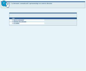 La intranet: una eina de comunicació i aprenentatge en els centres docents