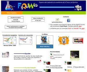 FisQuiWeb, Didáctica de la Física y la Química