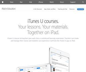 Apple - Educación - iTunes U. Transformamos el aprendizaje en el Aula y fuera de ellla