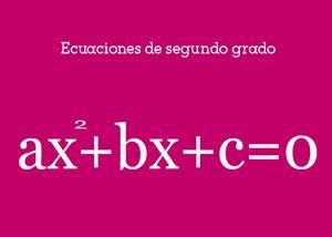 Ecuaciones de segundo grado #YSTP