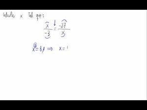 Equivalencia de fracciones