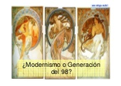Generación del 98. Propuesta para el aula (4º ESO)