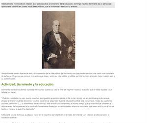 Sarmiento: política y barbarie