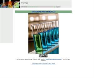 Sustancias puras y mezclas (ite)