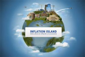 Inflation Island, juego del Banco Central Europeo para entender la inflación