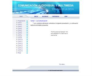 Temario de Comunicación Audiovisual y Multimedia