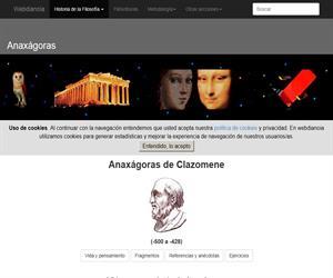 Anaxágoras de Clazomene: Vida, Obras, Fragmentos, Anécdotas y Ejercicios