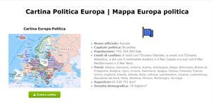 Cartina Europa - Mappa Europa